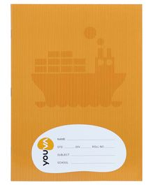 Navneet Youva Soft Bound Unruled Notebook Pack of 12 - 172 Pages Each