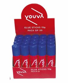 Navneet Youva Glue Sticks Set of 20 - 15 grams each