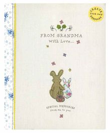 Parragon From Grandma with Love Keepsake Book - English