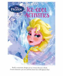 Parragon Disney Frozen Ice Cool Activities Book - English