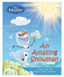 Parragon Disney Frozen An Amazing Snowman Book - English