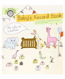 Parragon Baby's Record Book - English