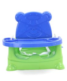 5 in 1 Swing cum Booster Seat - Blue