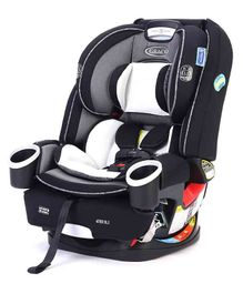 Graco DLX 4 in 1 Car Seat - Grey