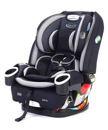 Graco DLX 4 in 1 Car Seat - Light Grey