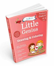FlipClass Drawing & Coloring 2 Kindergarten Workbook - English