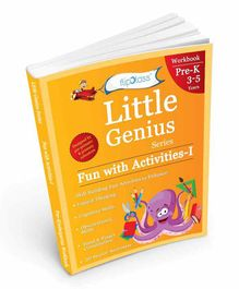 FlipClass Little Genius Fun with Activities Pre-Kindergarten Workbook - English