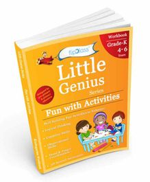 FlipClass Little Genius Fun with Activities 2  Kindergarten Workbook - English