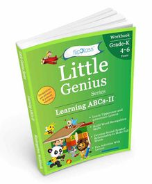 FlipClass Little Genius Learning ABCs 2 Kindergarten Workbook - English