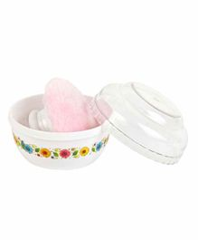 NAUGHTY KIDZ Baby Powder Puff - Pink