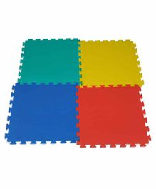 Liltoes EVA Kid's Floor Puzzle Mat Multicolor - 16 Pieces