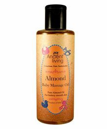 Ancient Living Almond Baby Massage Oil - 200 ml