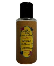 Ancient Living Sesame Baby Massage Oil - 200 ml
