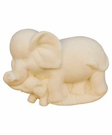 Ancient Living Handmade Designer Elephant Kids Soap With Neroli Oil - Cream