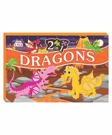 Art Factory EVA Foam Dragons Jigsaw Puzzle Set of 2 - 160 Pieces