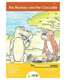 IVEI The Monkey and The Crocodile Activity Book - English