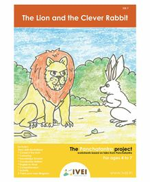 IVEI The Lion and the Clever Rabbit Acticity Book with Magnets - English