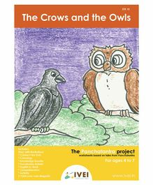 IVEI The Crows and the Owls Activity Book with Magnets - English
