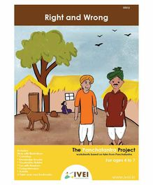 IVEI Right And Wrong  Activity Book with Bookmarks - English