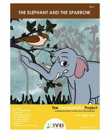 IVEI The Elephant and the Sparrow  Activity Book with Bookamarks - English