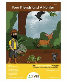 IVEI Four Friends And A Hunter  Activity Book with Bookmarks - English