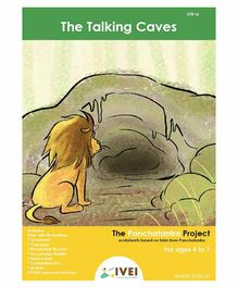 IVEI The Talking Cave  Activity Book with Key Chains - English
