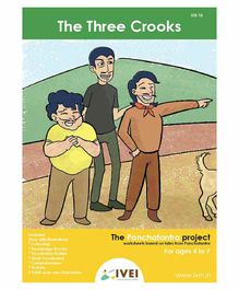 IVEI The Three Crooks Activity Book with Key Chains - English