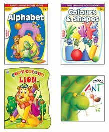 Macaw Early Learning Books Set of 4 - English