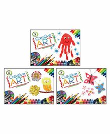 Macaw Creative Art Books Set of 3 - English