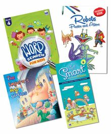 Macaw Story and Activity Combo 1 Pack of 4 Books - English