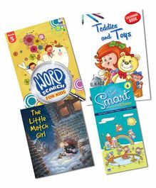 Macaw Story and Activity Combo 2 Pack of 4 Books - English