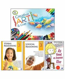 Macaw Activity Books Set of 4 - English