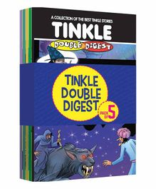 Tinkle Double Digest Comic Book Pack of 5 - English