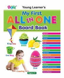 Young Learners Publications My First All In One Board Book - English