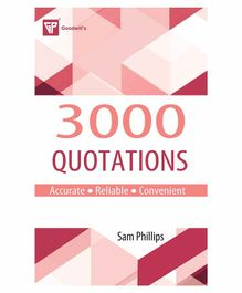 Goodwill Publishing House 3000 Quotations - English
