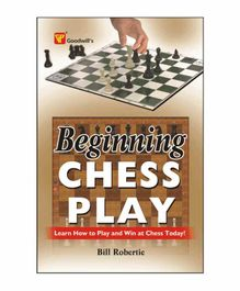 Goodwill Publishing House Beginning Chess Play Book - English