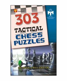 Goodwill Publishing House 303 Tactical Chess Puzzles Book - English