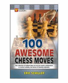 Goodwill Publishing House 100 Awesome Chess Moves Book - English