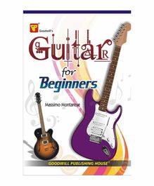 Goodwill Publishing House Guitar for Beginners Book - English