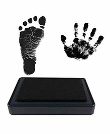 Mold Your Memories Reusable Ink Pad for Hand & Foot Impression - Black