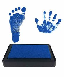 Mold Your Memories Reusable Ink Pad for Hand & Foot Impression - Blue
