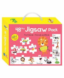 Art Factory Giant Animals & Birds Jigsaw Puzzles - 48 Pieces