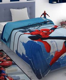 Athom Trendz Marvel Spiderman Comforter -  Blue & Red