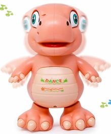Fiddlerz Musical Dancing Dino Toy - Peach