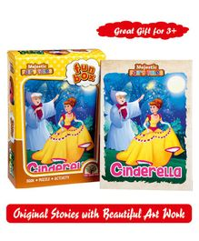Majestic Books Cindrella Fun Box - English