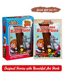 Majestic Books Little Red Riding Hood Fun Box - English