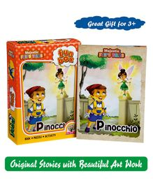 Majestic Books Pinocchio Fun Box - English