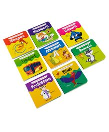 Majestic Books A Little Handy Book Set Of 8 - English