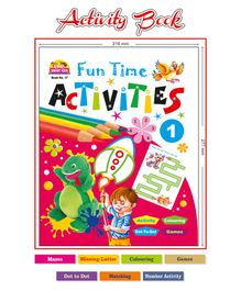 Majestic Book Fun Time Activities 1 - English