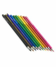 The Green Chapter Plantable Seed Pencils Pack of 10 - Multicolor